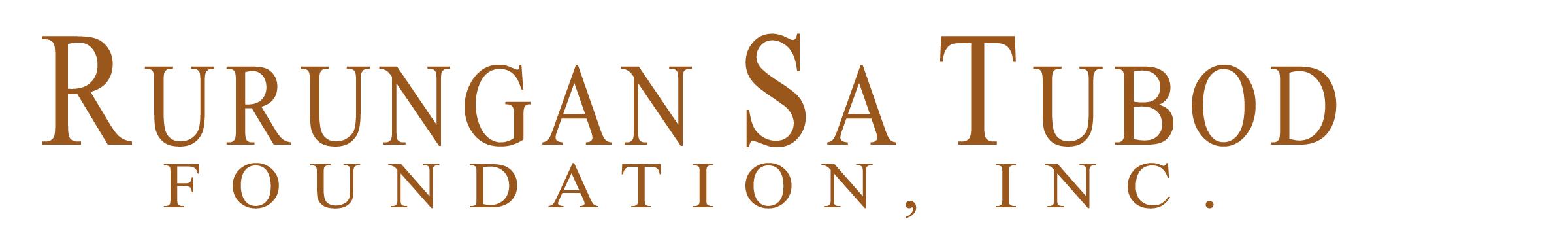 Rurungan sa Tubod Foundation Logo